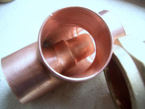 End Feed Injector Tee